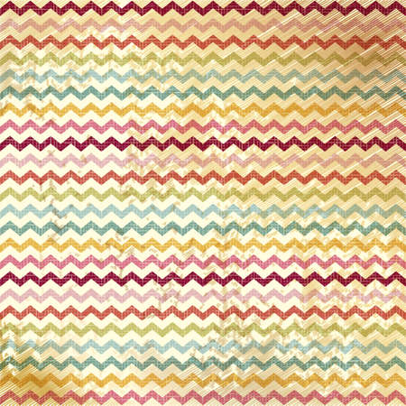 Vintage Chevron Pattern