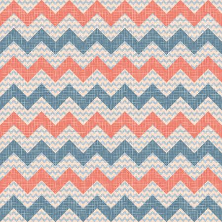 retro vintage populaire zigzagchevron patroon