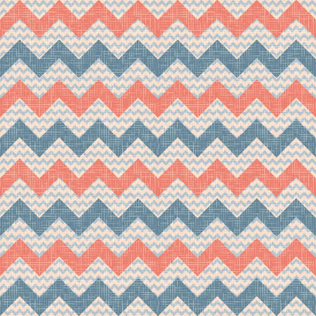 retro vintage popular zigzag chevron pattern Illustration