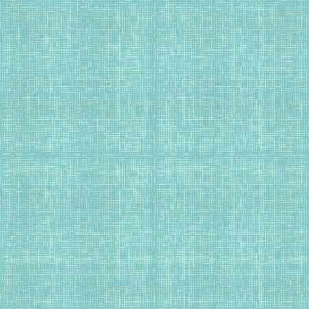 vector turkoois abstracte doek achtergrond of rasterpatroon linnen blauwe textuur Stock Illustratie