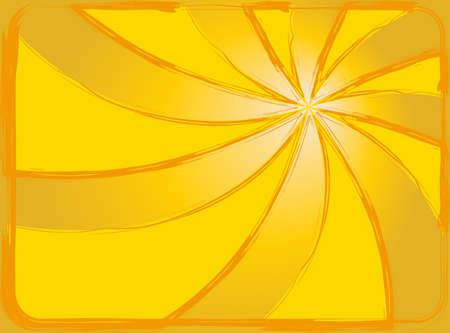Sunburst abstract background. yellow sun wallpaper Vector