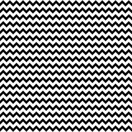 Zwarte en witte visgraat stof naadloze patroon, vector Stock Illustratie