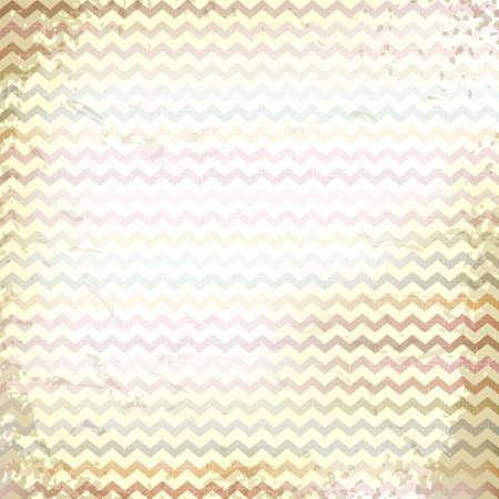 çuval bezi: keten tuval arka plan üzerinde vektör zikzak desen. Vintage rustik çuval bezi zikzak