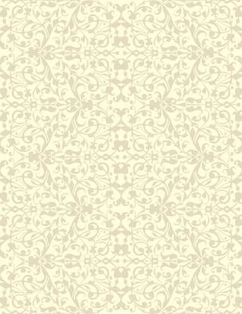sacking: Natural linen seamless pattern