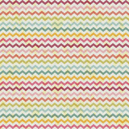 retro color: vector retro color vintage popular zigzag chevron pattern. rustic background