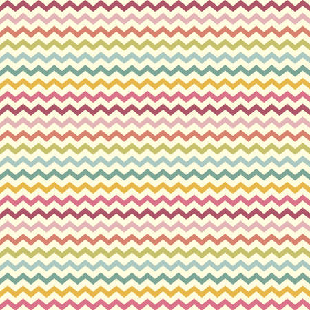 vector retro vintage popular zigzag chevron pattern