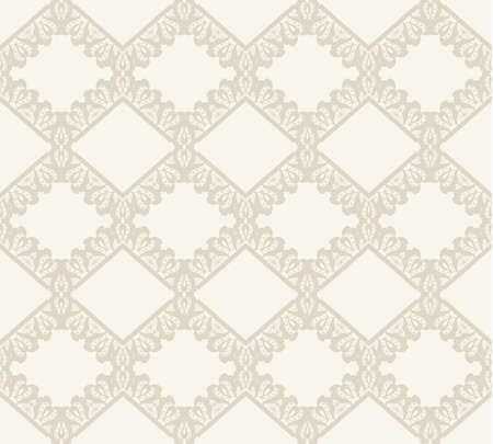 vector fabric: Lace vector fabric seamless  pattern. Geometric background