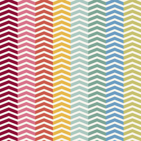 chevron pattern: Vector Seamless Chevron Pattern. Vintage zigzag background