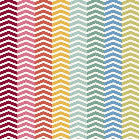 chevron pattern: Vector Seamless Chevron Pattern. Vintage zigzag background