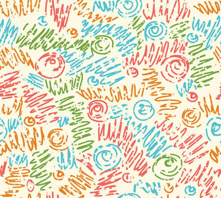 waves pattern: Seamless abstract hand-drawn waves pattern, wavy background. Seamless pattern can be used for wallpaper, pattern fills, web page background,surface textures. Illustration