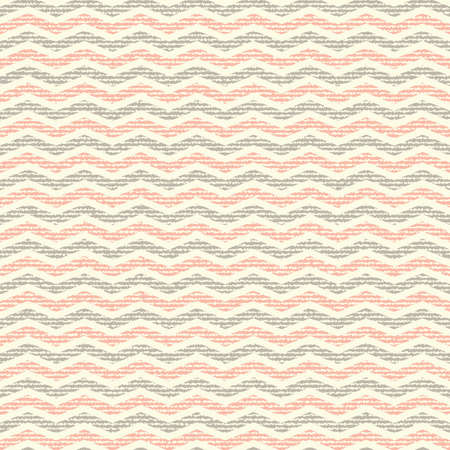 canvas background: vector Seamless colorful chevron pattern on texture grunge background. Vintage rustic burlap zigzag Illustration