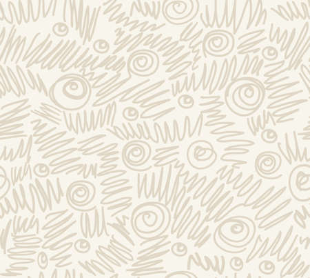 psychoanalysis: Seamless abstract hand-drawn waves pattern, wavy background. Seamless pattern can be used for wallpaper, pattern fills, web page background,surface textures. Illustration