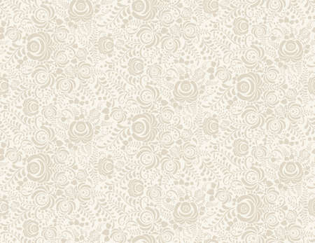Vector Floral vintage rustieke naadloos patroon. Achtergrond kan worden gebruikt voor behang, fills, webpagina, oppervlaktestructuren. Stockfoto - 46450976