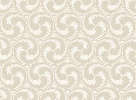 beige stof: Seamless Vector geometric pattern. Beige  texture background.