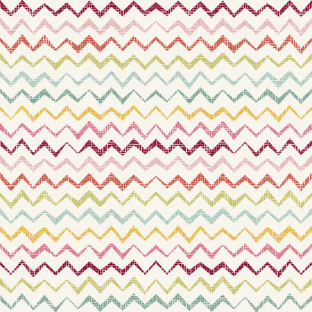 parallelogram: Vector Abstract retro geometric colorful seamless pattern