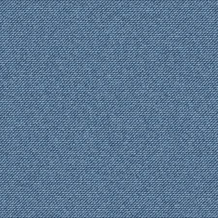Getextureerde striped jeans blauw denim linnen doek achtergrond. Naadloos patroon. Vector.