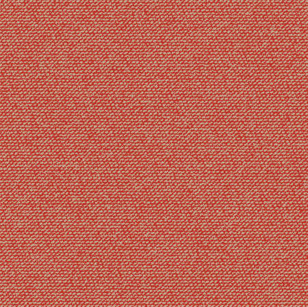 vector fabric: Vector Fabric texture. Canvas textile background. Red Seamless pattern Illustration