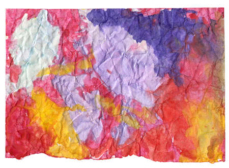 splash page: Abstract watercolor drawing background. Artistic multicolor crumpled backdrop Stock Photo