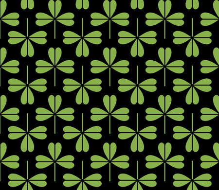greenery: Greenery foliage seamless pattern background illustration. Spring color 2017, eco wrapping paper design
