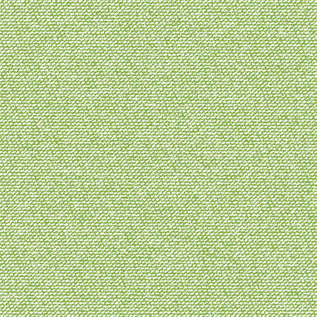 Greenery canvas seamless texture . Green fabric textile