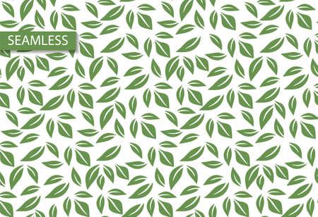 Retro leaf seamless vector pattern. Modern wallpaper design. Tile decor wallpaper. Organic texture. Ornament illustration. Summer vector seamless pattern. Decorative print.