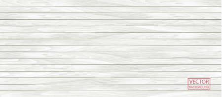 Wood vector white banner in vintage style. Grunge pattern texture background, wooden parquet background texture. Wood plank.