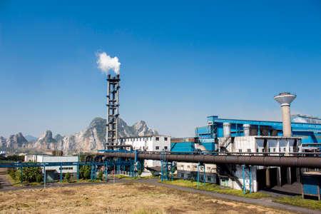 industrial exterior