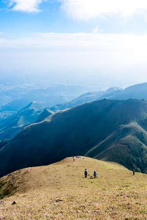 Guangdong mountain peaks