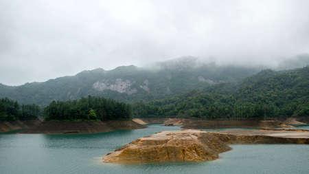 Alpine and lake scenery
