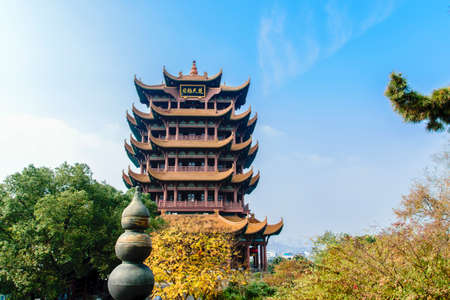 Ancient Tower in  Wuhan, Hubei