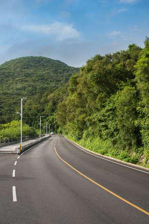 Panshan Highway, Zhapo, Hailing Island, Yangjiang, Guangdong