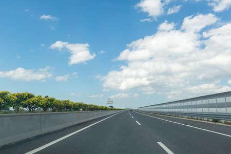 Daytime highway