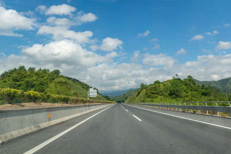 Fast main highway