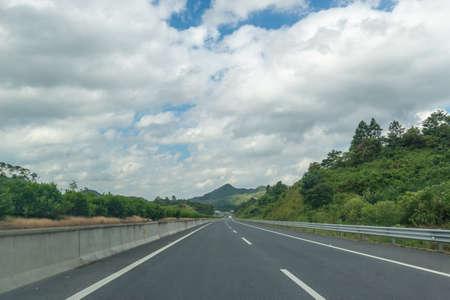 Baiyun and highway