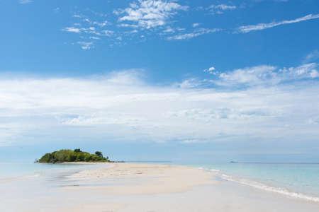 Semporna scenery in Tawau, Malaysia 版權商用圖片