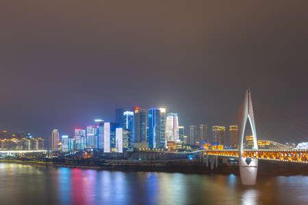Jialing River Bridge, Qianjingmen, Chongqing, China