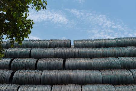 Steel under the blue sky