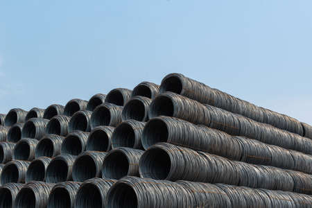 Stacked wire rods