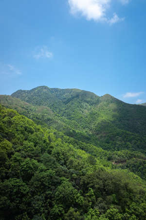 Scenery of Jichunding Forest Park in Yangchun, Guangdong
