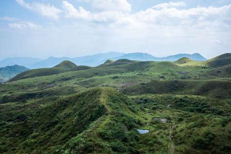 Alpine grassland of Jilongding, Yangchun City, Guangdong Province, China