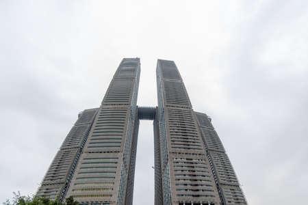 Raffles Tower Building, Chaotianmen Wharf, Chongqing, China