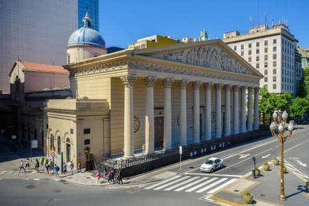 ブエノスアイレス大聖堂は、資本連邦の主要なカトリック教会です。 写真素材