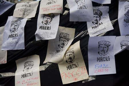 ブエノス ・ アイレス、アルゼンチン。2016 年 9 月 2 日。労働者の労働組合は、解雇、税の上昇とインフレに抗議するため、アルゼンチンのブエノス