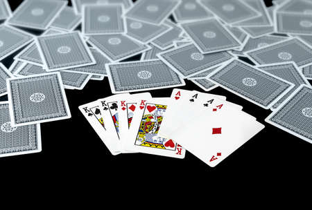 straight flush: card for player game