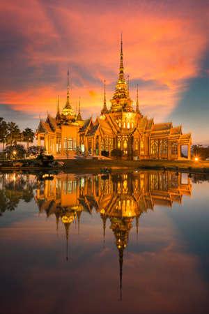 none: Wat none kum thai temple unseen