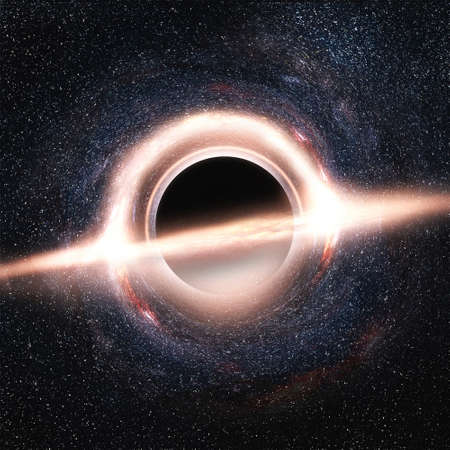 Gargantua or Black hole in universe