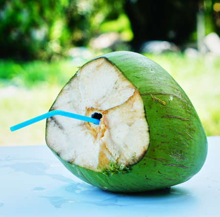 Drink coconut water for health  in the summer