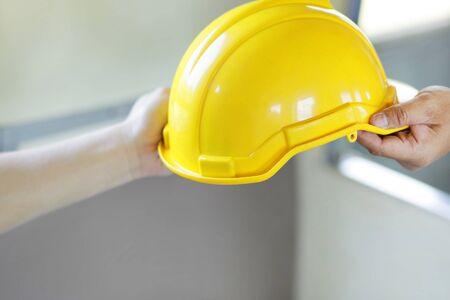 Engineering delivered the helmet to the architect for the concept of engineering work.