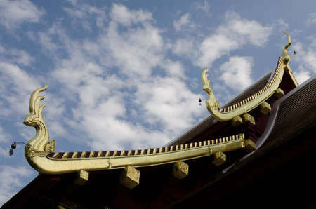 Temple roof Stock Photo