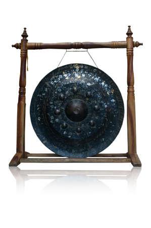 exotic gleam: Gong Stock Photo